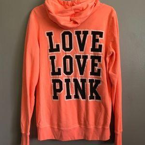 PINK Victoria's Secret Women's Hoodie Jacket (S)